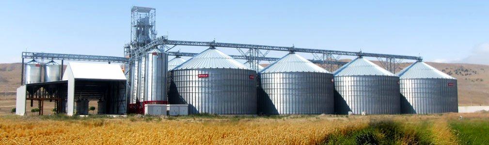 Силосы для хранения зерна элеваторы куплю транспортер усть каменогорске